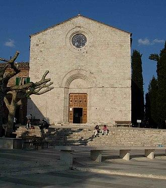 Monticiano - Image: Chiesa monticiano