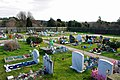 Children's Corner, Durrington cemetery - geograph.org.uk - 1726606.jpg