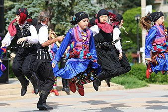 Children's folklore ensemble from Turkey.jpg