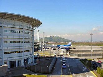 Arturo Merino Benítez International Airport - View of the Domestic Terminal
