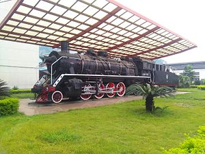 China Railways SY - SY 1000 at Liuzhou Locomotive and Rolling Stock Works.