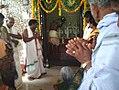 Chinalingala Sri Kodanda Ramalayam pradhama varshikothsavam ramula abhishekam.jpg