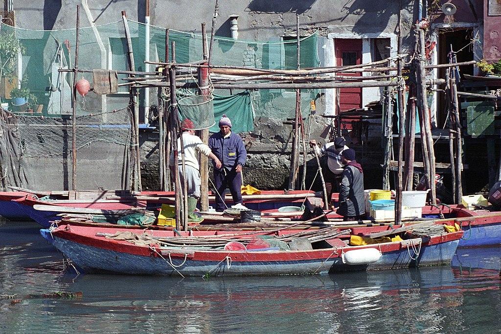 Pescadores de Chioggia