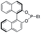 A chiral monophosphine derived from BINOL
