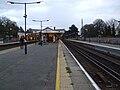 Chislehurst station fast look south.JPG