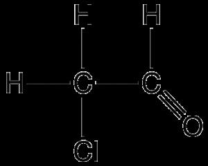 Chloroacetaldehyde - Image: Chloroacetald