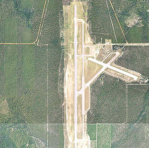 Choctaw Naval Outlying Field - 2006 USGS airphoto