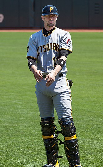 Chris Stewart (baseball) - Stewart with the Pittsburgh Pirates