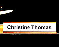 Christine Thomas nameplate 2012 FDSC (8077671789).jpg