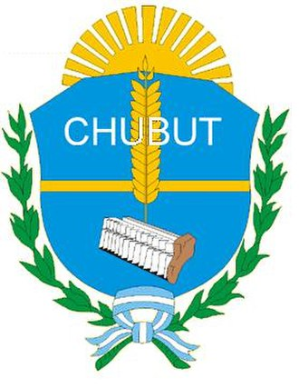 Coat of arms of Argentina - Image: Chubut COA