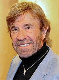 Chuck Norris American martial artist, actor, film producer and screenwriter