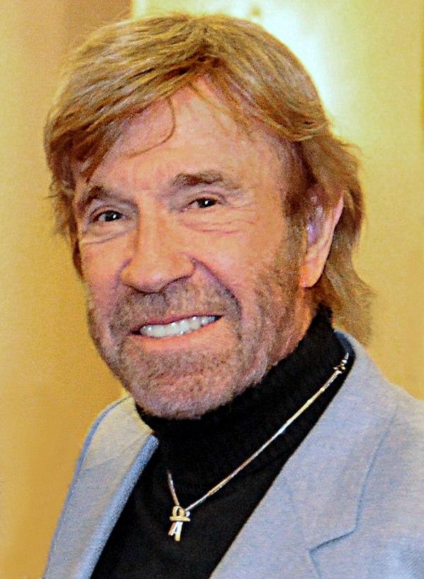 Photo Chuck Norris via Wikidata