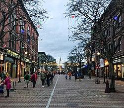 Marktplatz in der Church Street