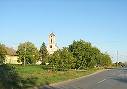 A Orthodox church in Deč