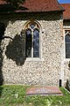 Church of St Martin White Roding Essex England - nave south window.jpg