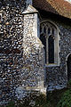 Church of St Mary and St Christopher, Panfield - nave buttress.jpg
