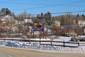 Chute-Saint-Philippe, Quebec - Image: Chute St Philippe QC 2
