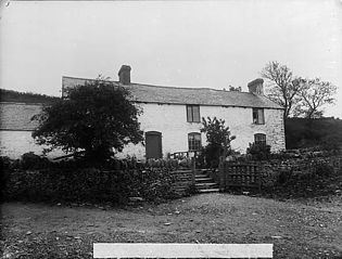Chwibren Isaf, Llansannan, old home of Henry & William Rees