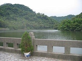 Cihu Mausoleum - The Cihu lake remains well preserved.
