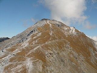 Cima Ciantiplagna Mountain in Italy