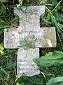Cimitirul ostaşilor germani (1916 - 1919) - cruce căzută.JPG