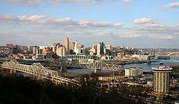 Cincinnatis skyline.