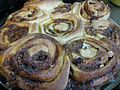 Cinnamon rolls for Thansgiving Day 2009.jpg
