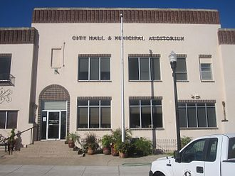Canadian, Texas - City Hall and Municipal Auditorium