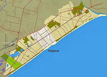 Cómo llegar a Solymar en transporte público - Sobre el lugar