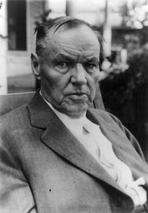 Scopes Trial - Clarence Darrow in 1925, during the trial