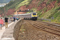 Class 43 on the sea wall near Dawlish (4889).jpg