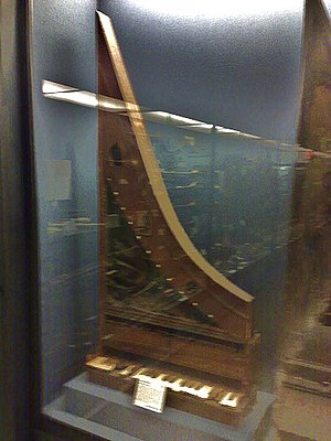 Clavicytherium - The clavicytherium in the Royal College of Music, London