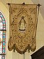 Cliponville (Seine-Mar.) église, bannière de procession 2.jpg