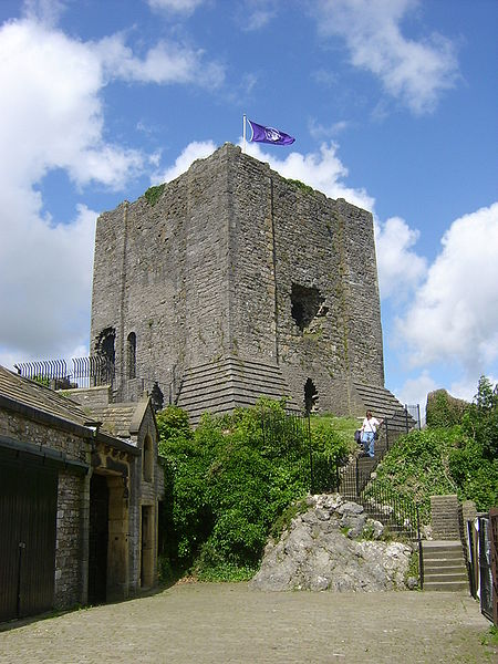 Clitheroe Castle via Wikipedia