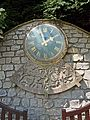 Clock, Thornton in Craven (5836795323).jpg