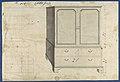 Clothes Press, from Chippendale Drawings, Vol. II MET DP118221.jpg