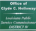 Clyde Holloway PSC sign IMG 0122.JPG
