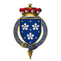 Coat of arms of Sir Thomas Darcy, 1st Baron Darcy of Darcy, KG.png