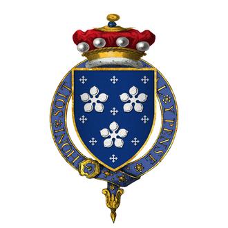 Thomas Darcy, 1st Baron Darcy de Darcy - Arms of Lord Darcy