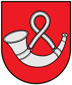 Trąby coat of arms - Image: Coat of arms of Taurage (Lithuania)