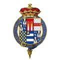 Coat of arms of Thomas Pelham-Holles, 1st Duke of Newcastle upon Tyne, KG, PC, FRS.png