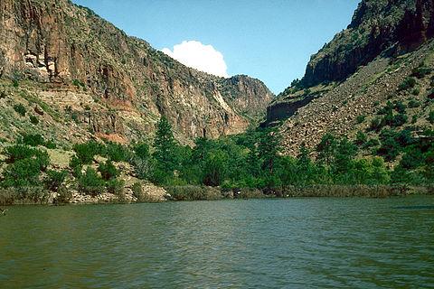 Isleta diversion dam wikivisually for Cochiti lake fishing