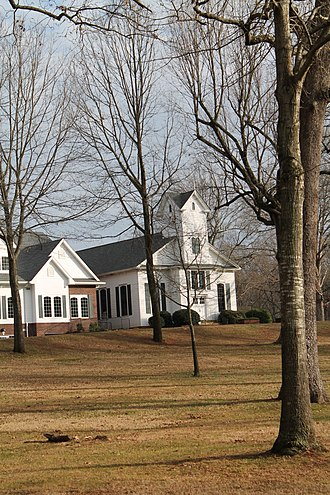 Coddle Creek Associate Reformed Presbyterian Church, Session House and Cemetery - Image: Coddle Creek ARP