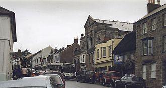 Helston - Coinagehall Street and the Blue Anchor Inn