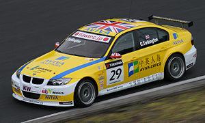 Colin Turkington - Turkington driving for Team Aviva-COFCO at the 2010 FIA WTCC Race of Japan.