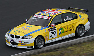 Colin Turkington - Turkington driving for Team Aviva-COFCO at the 2010 FIA WTCC Race of Japan.