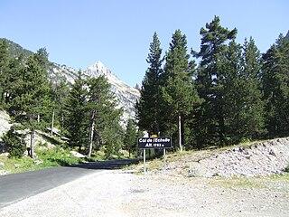Col de lÉchelle mountain pass