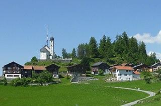 Ruschein Former municipality of Switzerland in Graubünden