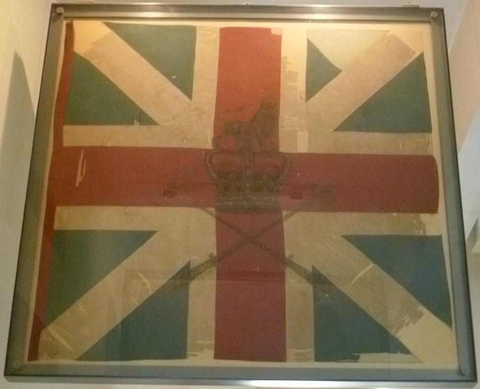 Colours of Barrell%27s Regiment at Culloden