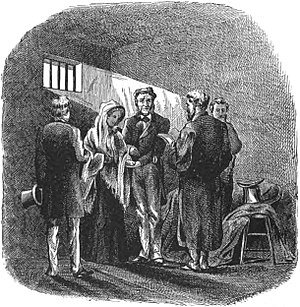 John C. Colt - Depiction of Colt's wedding in prison from an 1874 text